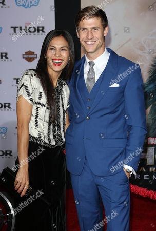 Elodie Yung and Jonathan Howard