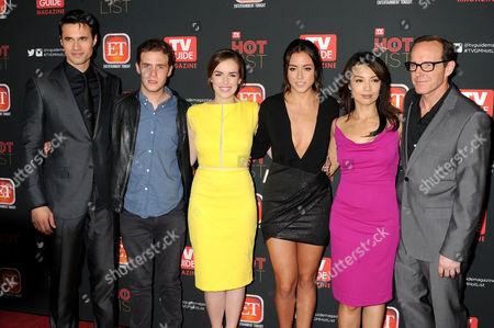 Clark Gregg, Elizabeth Hendrickson, Chloe Bennet and Ming-Na Wen