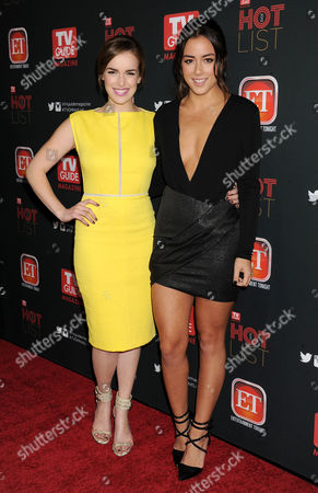 Elizabeth Hendrickson and Chloe Bennet
