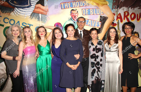 Mary Beth Peil, Alequie Reid, Emily Meade, Vanessa Aspillaga, Laurie Metcalf, Jeff Goldblum, Director Anna D Shapiro, Mia Barron, Karen Pittman