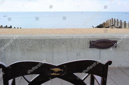 Stock Picture of Cushing's View, Whitstable, Kent, England, Britain