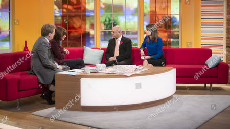 Aled Jones and Lorraine Kelly with Keith Vaz and Louisa James
