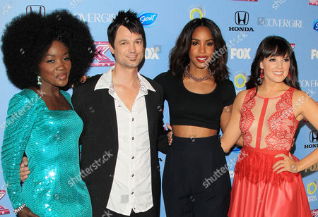 Editorial photo of 'The X Factor' US TV Show Top 12 Finalists Revealed, Los Angeles, America - 04 Nov 2013