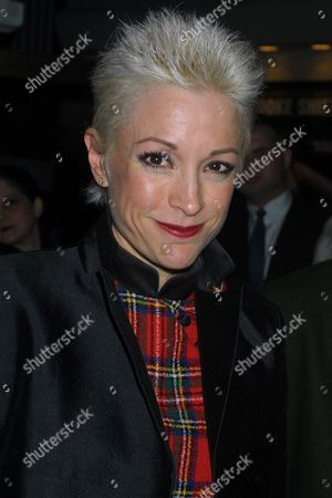 """Nana Visitor at the opening night of """"Dance of Death"""" at the Broadhurst Theatre in New York City"""