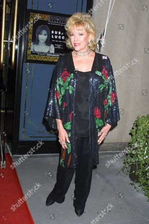 Eileen Fulton at the Manhattan nightclub debut of Susan Lucci and the opening of the fall season at Feinstein's At The Regency in New York City