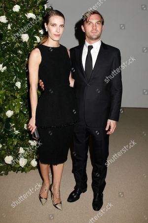 Vanessa Traina and Maxwell Snow