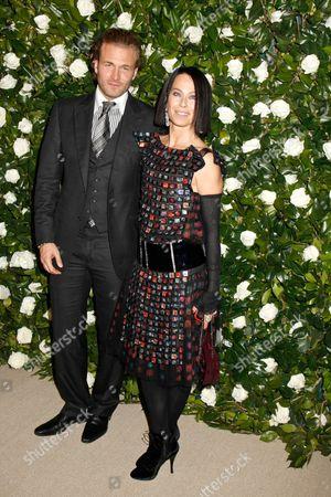 Brad Kroenig and Lady Amanda Harlech