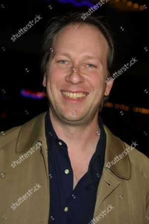 """The film's composer, Rolfe Kent, arriving to the premiere of Miramax Films' """"Kate & Leopold"""" at the Mann Bruin Theatre in Westwood, California on December 11, 2001.  Westwood, California  Photo ® Matt Baron/BEI"""