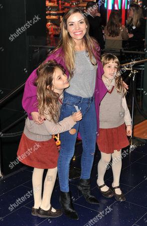 Luna Lampard, Elen Rivas and Isla Lampard