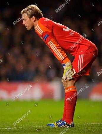 Schalke 04 Goalkeeper Timo Hildebrand