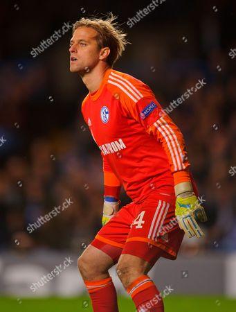 Stock Picture of Schalke 04 Goalkeeper Timo Hildebrand