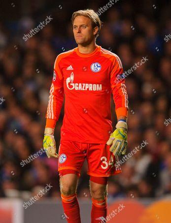 Stock Photo of Schalke 04 Goalkeeper Timo Hildebrand