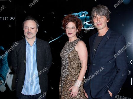 Professor Brian Cox, Gia Milinovich and VFX Supervisor Tim Webber