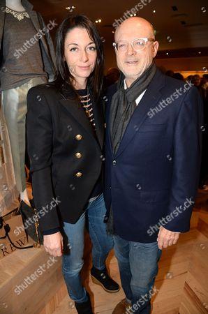Stock Image of Mary McCartney and Millard Drexler