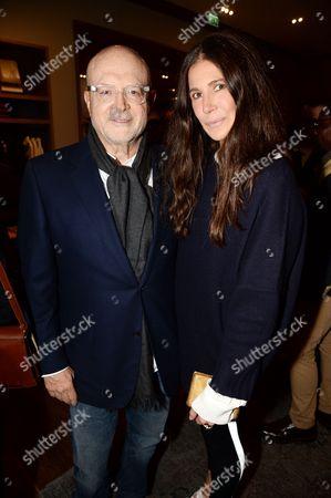 Millard Drexler and Elizabeth Saltzman