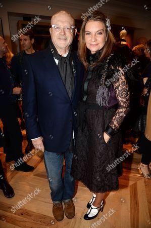 Millard Drexler and Natalie Massenet