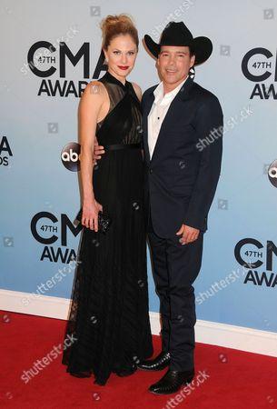 Jennifer Walker and Clay Walker