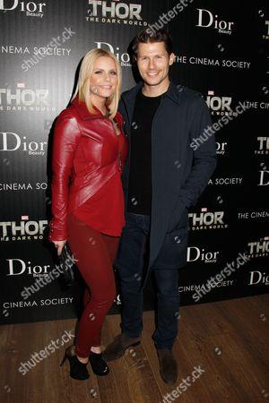Carrie Keagan and Jason Dundas