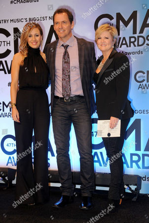 Editorial image of 47th Annual CMA Awards, Press Room, Nashville, America - 06 Nov 2013