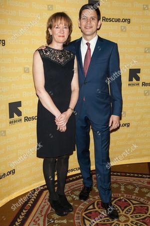 Louise Miliband, David Miliband