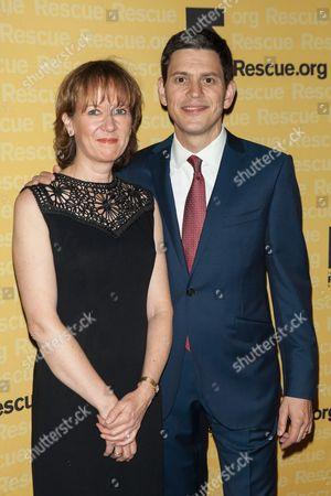 Stock Photo of Louise Miliband, David Miliband