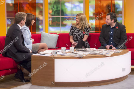 Stock Picture of Aled Jones and Lorraine Kelly with Siobhan Freegard and Gennaro Castaldo