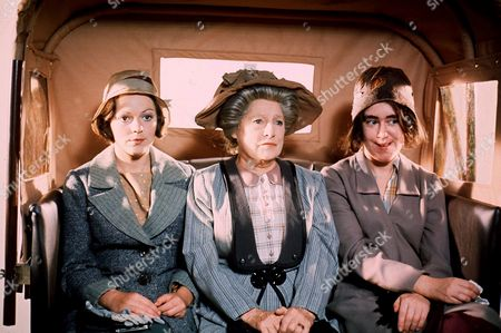 Stock Picture of 'Upstairs, Downstairs' TV Programme.Jacqueline Tong, Angela Baddeley, Jenny Tomasin.