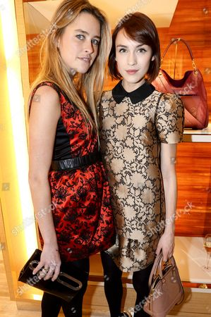 Editorial picture of The Opening of the Louis Vuitton Townhouse at Selfridges, London, Britain - 07 Nov 2013