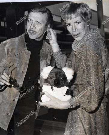 Actors Yootha Joyce And Brian Murphy. Original Print Held In Kensington.
