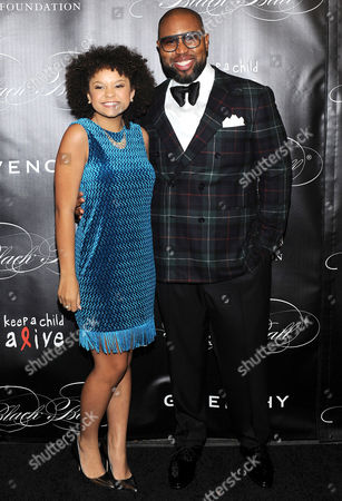Stock Image of Claude Kelly and Rachel Crow