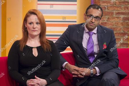 Editorial image of 'Daybreak' TV Programme, London, Britain. - 08 Nov 2013