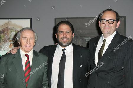 Sir Jackie Stewart, Brett Ratner, Dan Braun