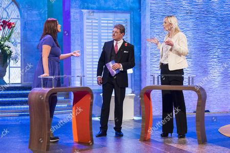 Sally Windsor, Alan Titchmarsh and Samantha Brick