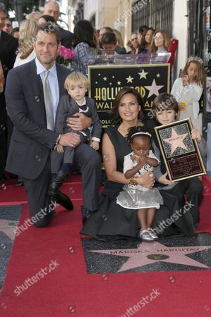 Editorial image of Mariska Hargitay honoured with a star on the Hollywood Walk Of Fame, Los Angeles, America - 08 Nov 2013