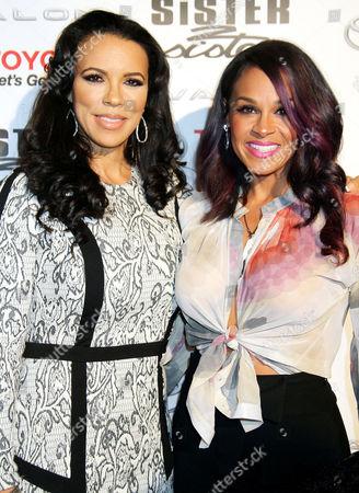 Shamicka Lawrence and Sheree Fletcher