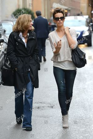 Editorial photo of Kate Beckinsale out and about in Rome, Italy - 09 Nov 2013