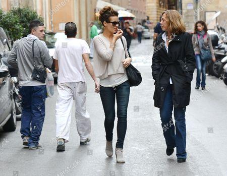 Kate Beckinsale with Journalist Barbie Latza