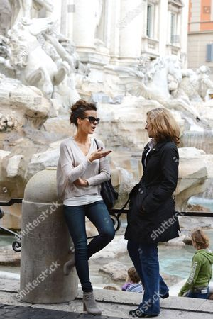 Editorial image of Kate Beckinsale out and about in Rome, Italy - 09 Nov 2013