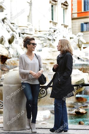 Editorial picture of Kate Beckinsale out and about in Rome, Italy - 09 Nov 2013