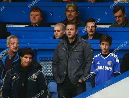 Stock Photo of Mario Jose Jr Mourinho son of Chelsea's Manager Jose Mourinho