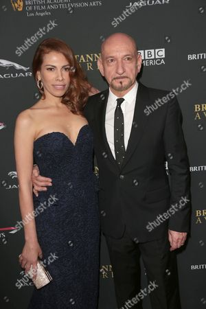Stock Picture of Sir Ben Kingsley and Daniela Lavender