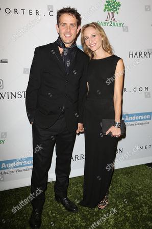 Joey McIntyre and wife Barrett Williams