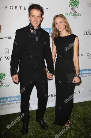 Joey McIntyre and wife Barrett Williams