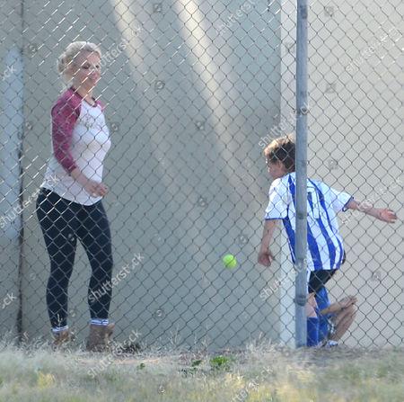 Britney Spears and Jayden Federline