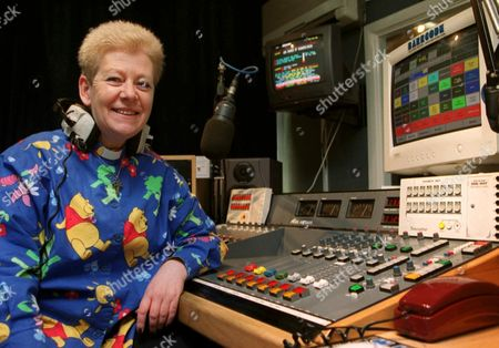 Editorial photo of REVEREND WENDY SAUNDERS, MILLENNIUM FM DJ, BRITAIN - 06 APR 2001