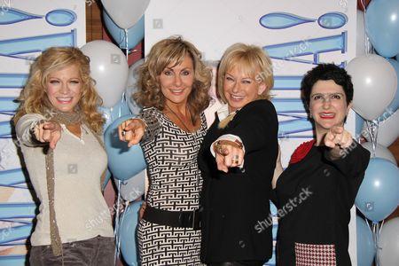 Felicia Finley, Judy McLane, Judy Crayner, Lauren Cohn