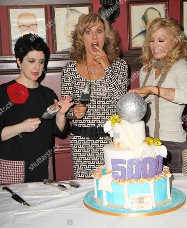 Lauren Cohn, Judy McLane, Felicia Finley