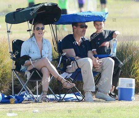 LeAnn Rimes and Eddie Cibrian with son Jake Cibrian