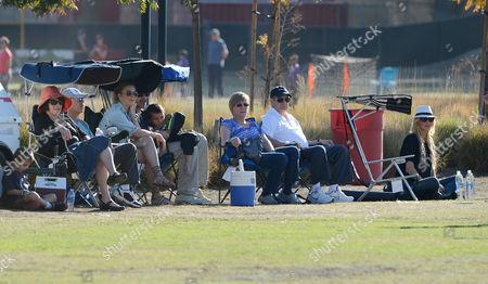 Eddie Cibrian, LeAnn Rimes, Brandi Glanville with son Jake Cibrian