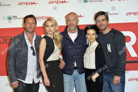 Stock Image of Fedor Bondarchuk, Thomas Kretschmann, Yanina Studilina, Mariya Smolnikova and Petr Fedorov